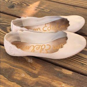 Sam Edelman Augusta Scalloped Ballet Flats size 7